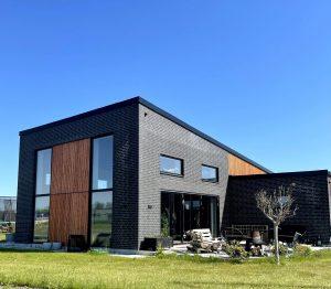 Arkitekttegnet hus lavet i samarbejde med Ingeniør Søren Schantz Nissen